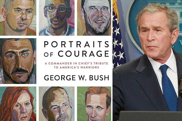 Сборник картин экс-президента США стал бестселлером