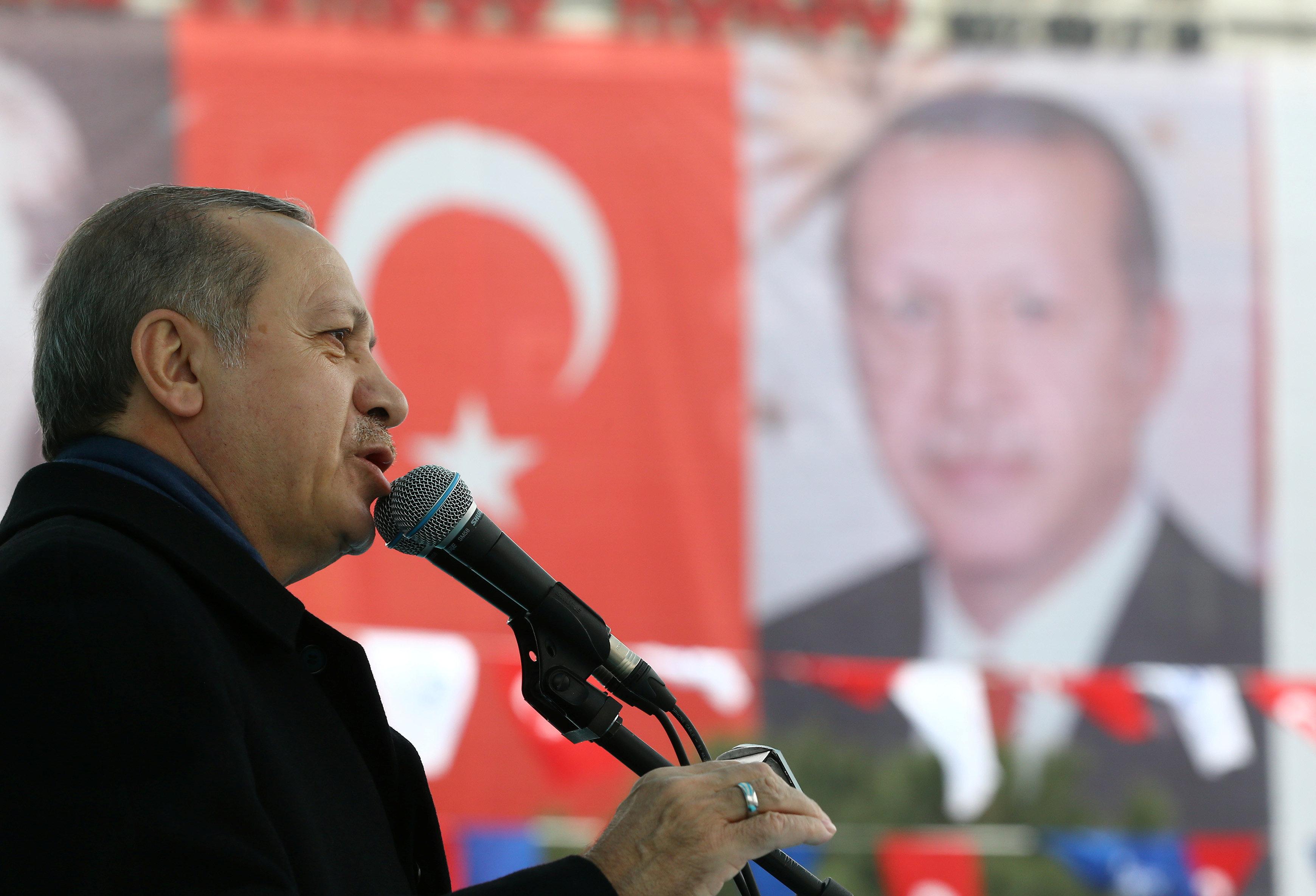 Эрдоган намерен обратиться вЕСПЧ из-за ситуации сНидерландами