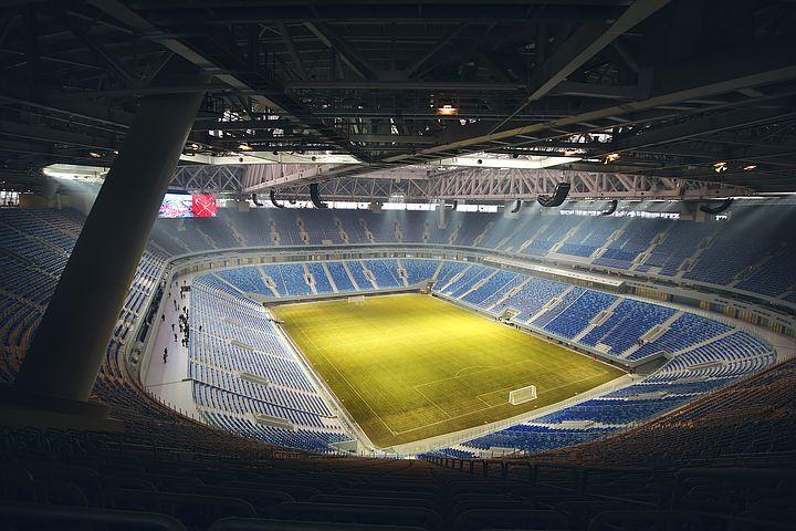 «Зенит-Арена» готовится кпервому хоккейному матчу