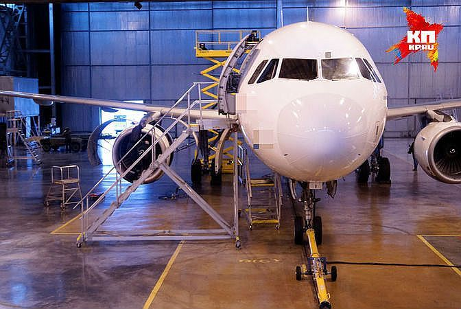 Самолет «Уральских авиалиний» выкатился запределы ВПП ваэропорту Симферополя