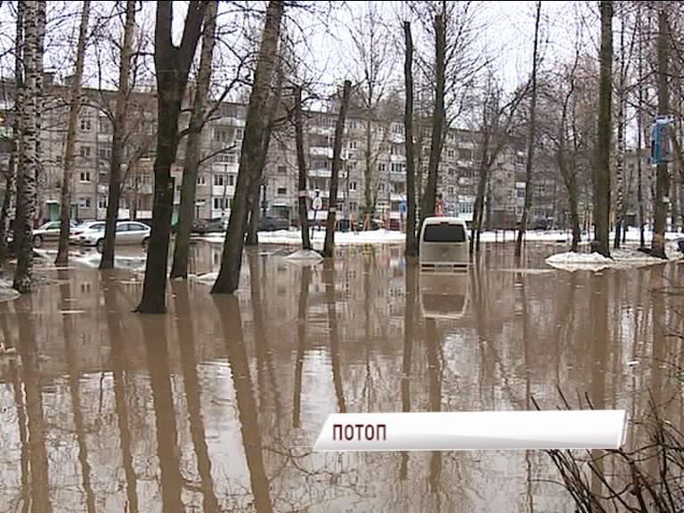 ЧПвБрагино: напроспекте Дзержинского затопило целый квартал
