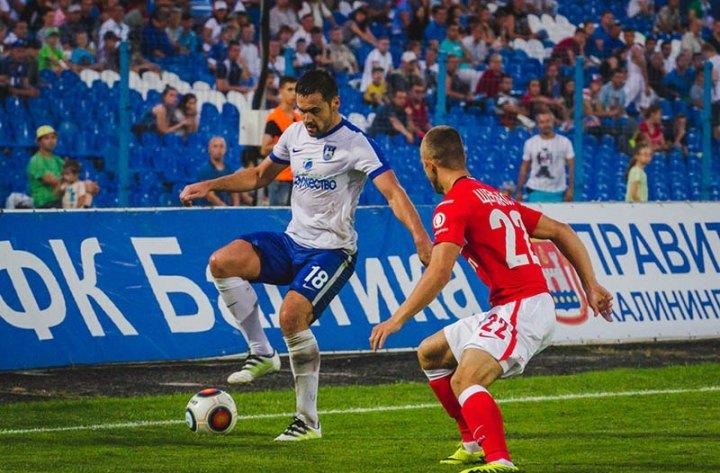 «Спартак-2» проиграл «Балтике» вматче ФНЛ