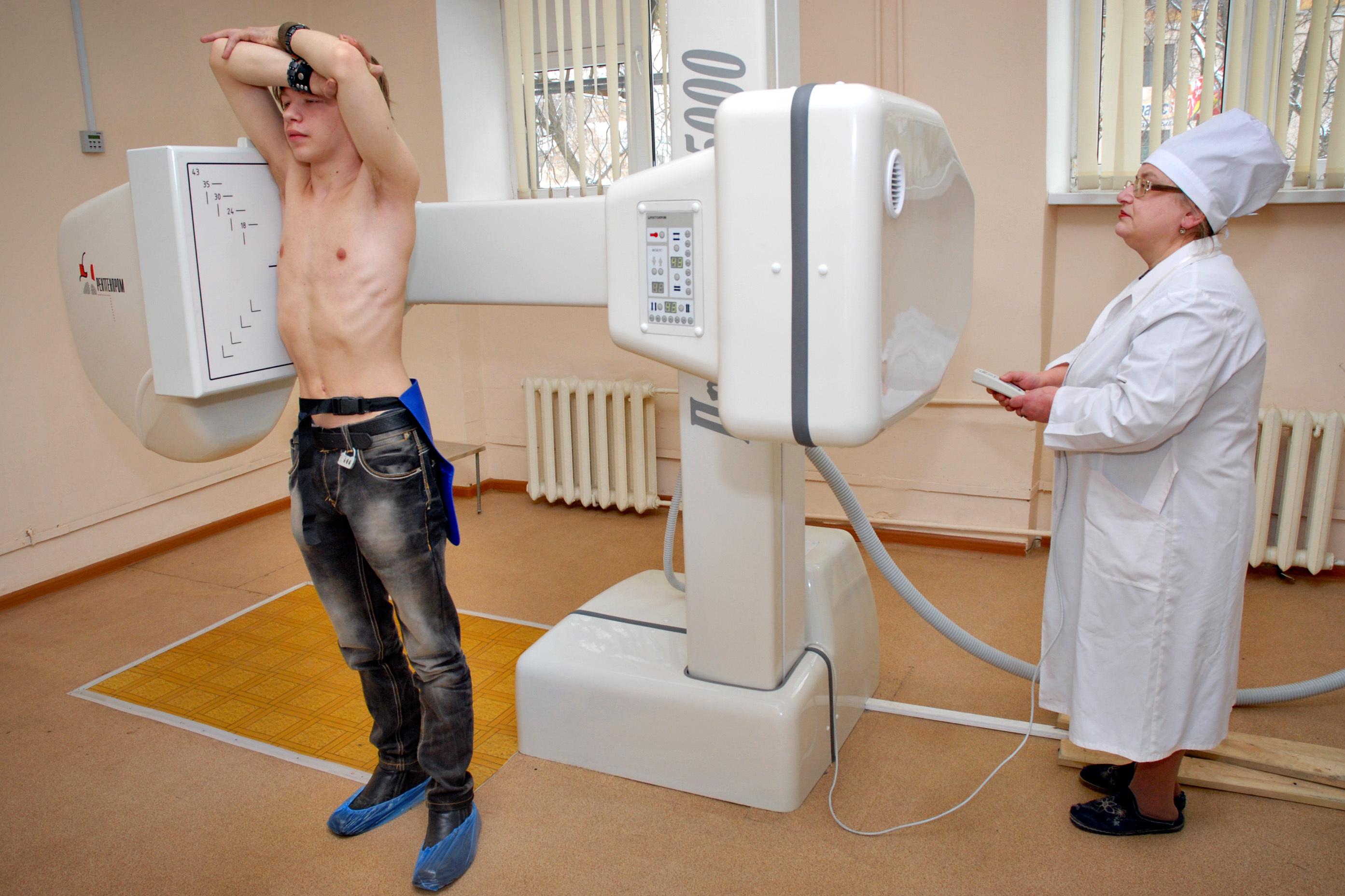 Челябинцев позвали наКировку бесплатно пройти флюорографию