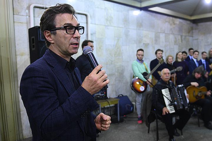 Презентация неповторимого проекта «Музыка вметро» прошла настанции «Боровицкой»