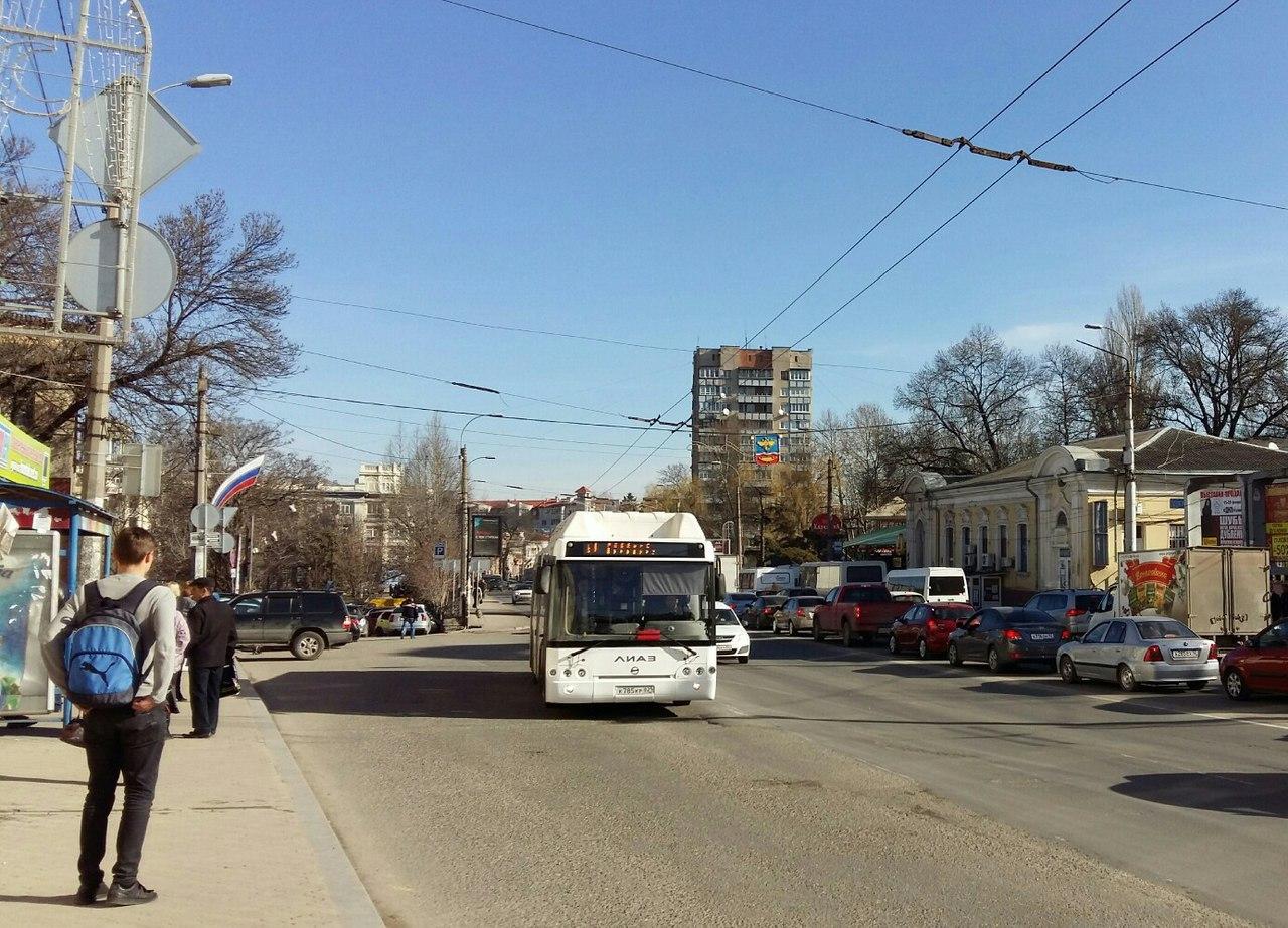 ВСимферополе на4 автобусных маршрутах проезд можно оплатить электронной картой