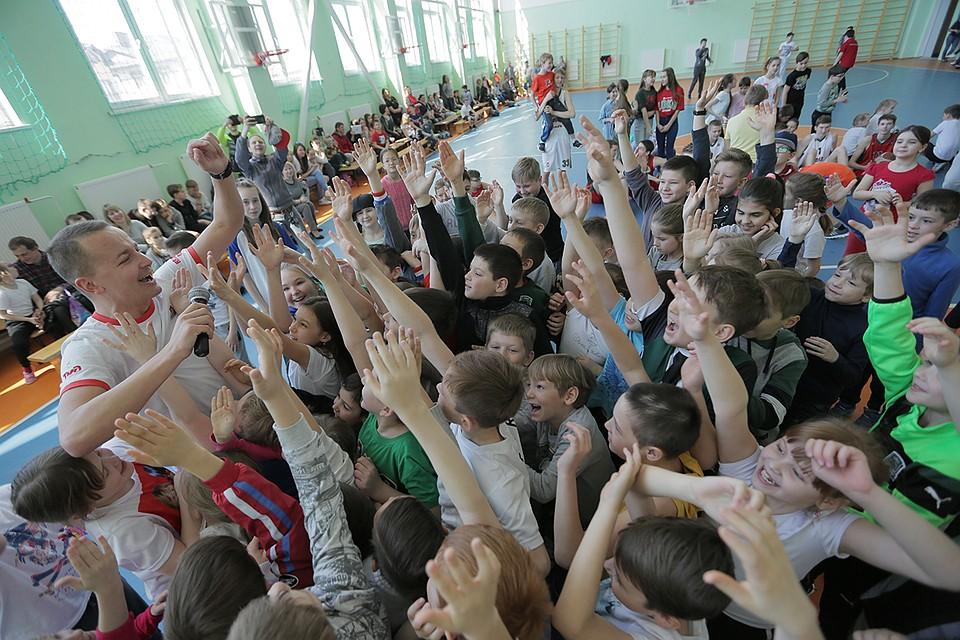 «Локомотив-Кубань» открыл баскетбольную секцию вкраснодарской школе