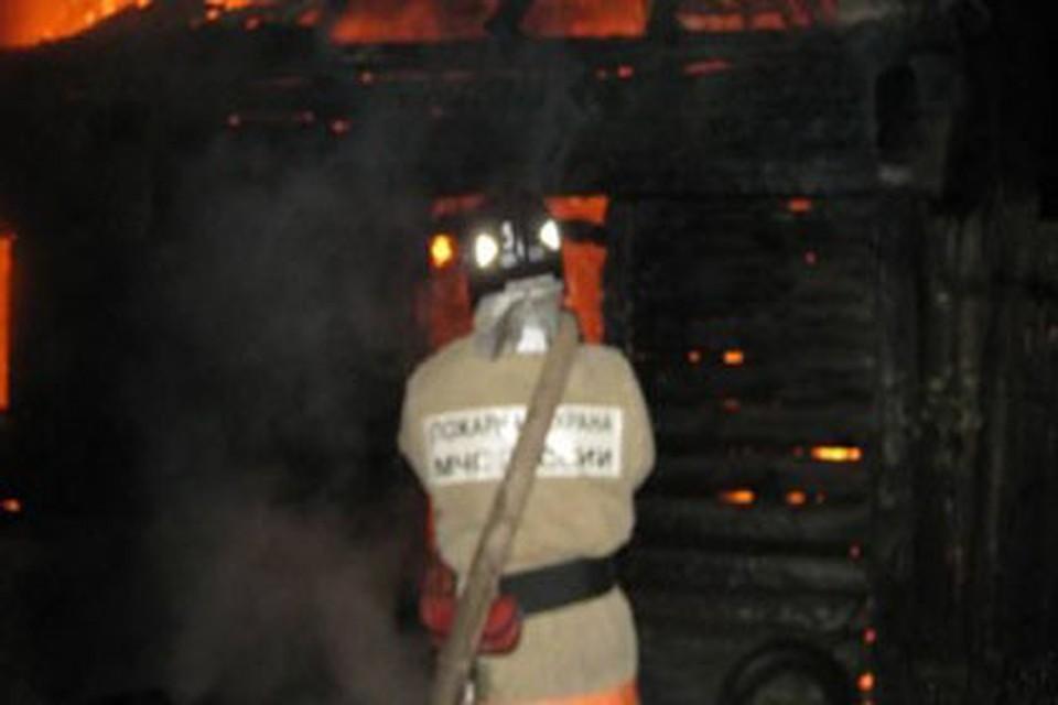Гражданин Смоленской области после ссоры ссожительницей поджег дом еематери