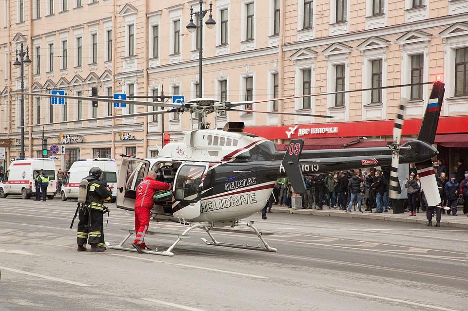 МЧС: поисково-спасательные работы впетербургском метро завершены