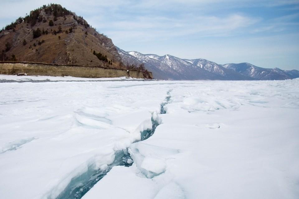 ВУлан-Удэ надрейфующей льдине отыскали примерзшее мужское тело