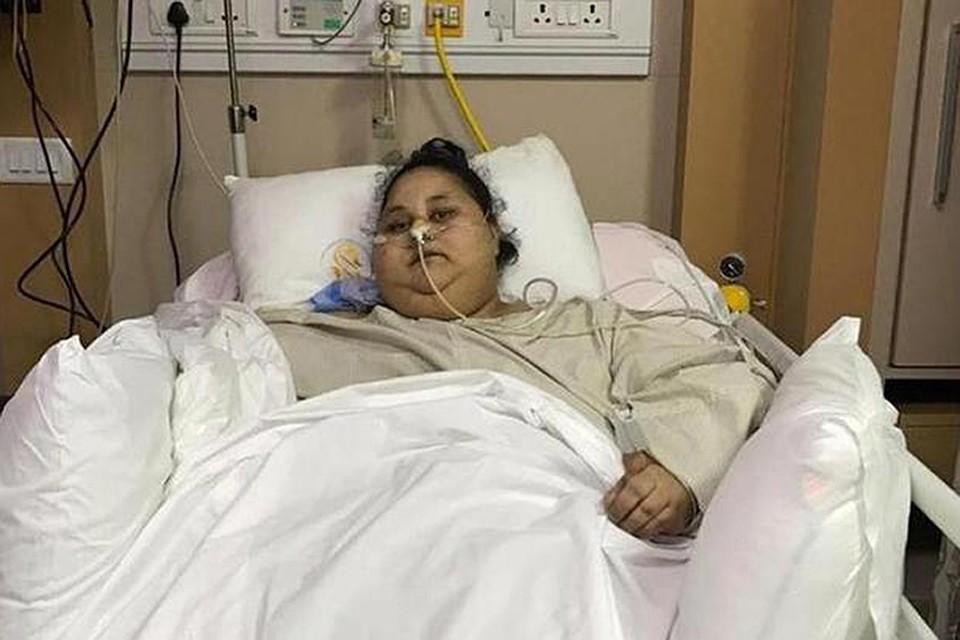 Самая тяжелая женщина вмире похудела вИндии на242 килограмма