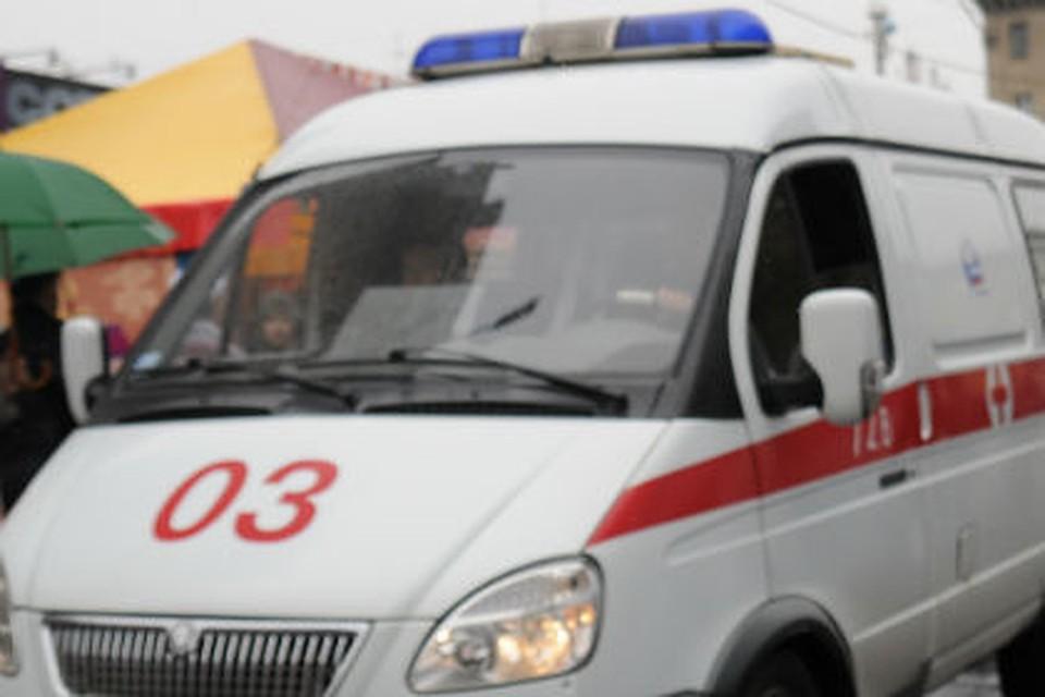 ВОмске иностранная машина набольшой скорости сбила подростка навелосипеде
