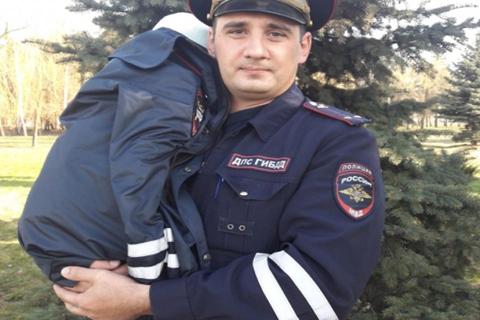 Курская область. Полицейские отыскали пропавшую четырех летнюю девочку