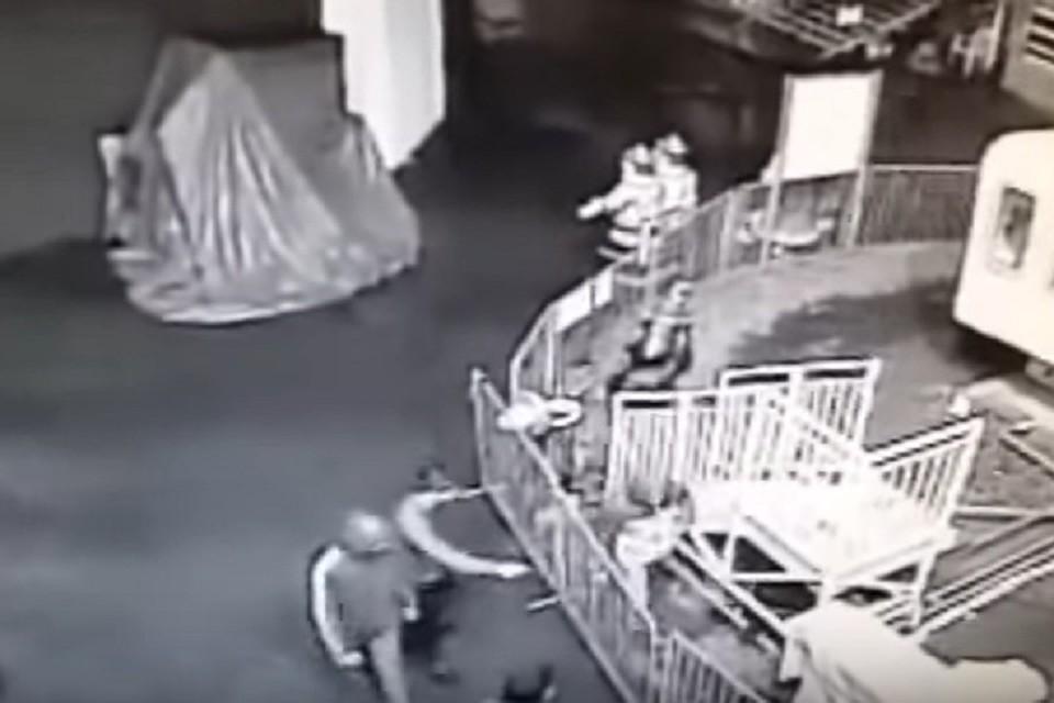 ВоВладикавказе хулиганы разгромили парк аттракционов