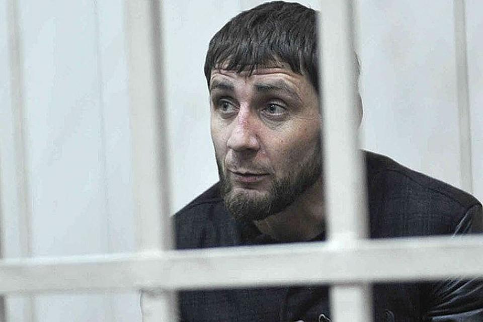 Появилось видео первого допроса Заура Дадаева спризнанием вубийстве Немцова
