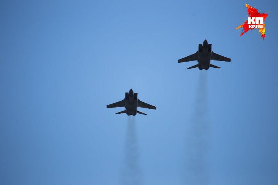 Истребители пронесутся над Красноярском вчесть Дня Победы