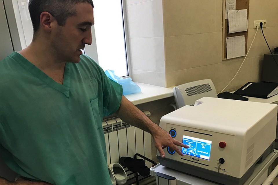 Хирург Дмитрий Еникеев гордится результатом совместной работы.