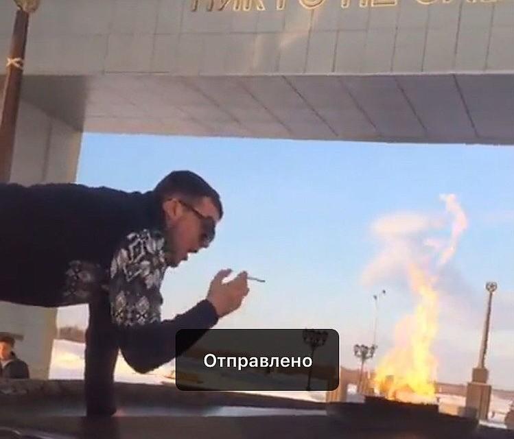 СКпроводит проверку всвязи сосквернением бессрочного огня вСалехарде