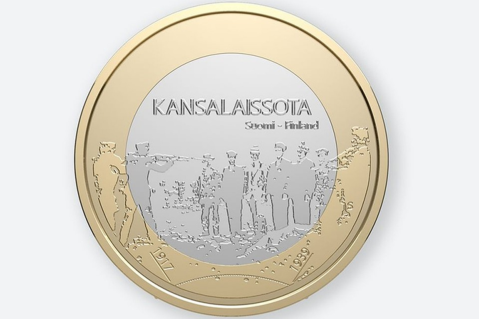 ВФинляндии изымают изоборота монету сизображением расстрела