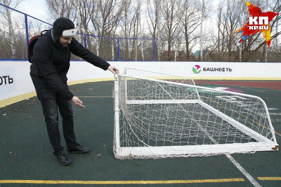 ВБашкирии 12-летняя девочка, травмированная футбольными воротами, впала вкому