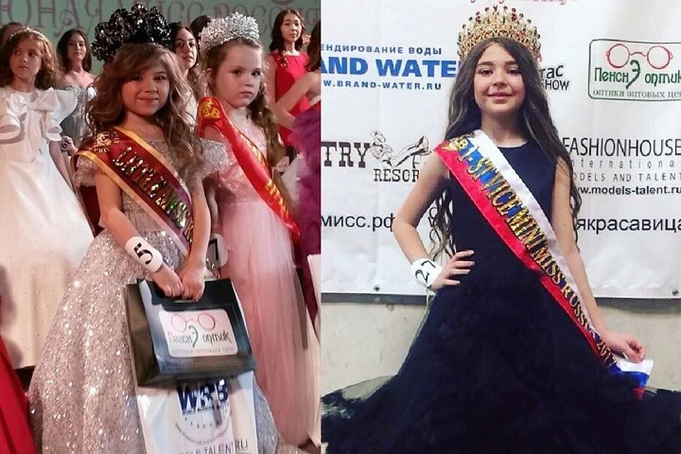 Шестилетняя красавица изКрасноярска стала «Юной мисс Российская Федерация - 2017»