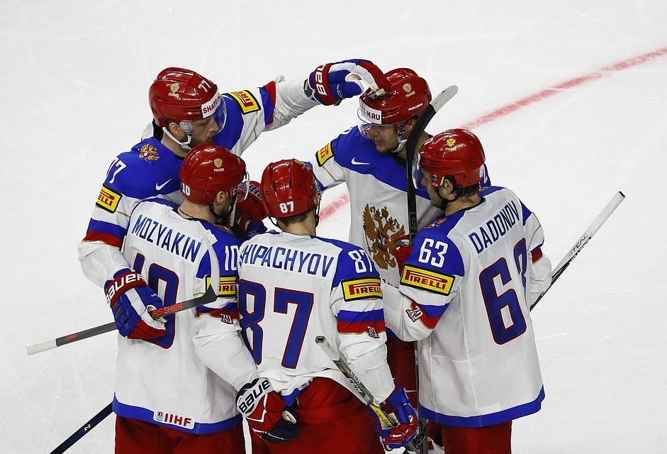 Сборная РФ похоккею разгромила команду Италии срезультатом 10:1