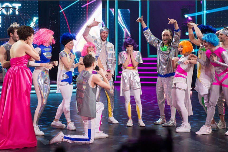 Танцор ихКрасноярска сделал предложение любимой нашоу «Танцуют все!»