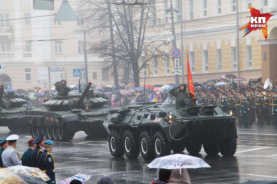 000 граждан Нижегородской области прошли с«Бессмертным полком»