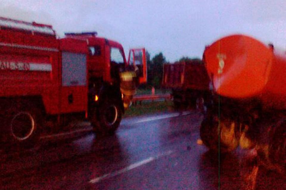Гражданин Тульской области спровоцировал смертельное ДТП с 2-мя грузовиками