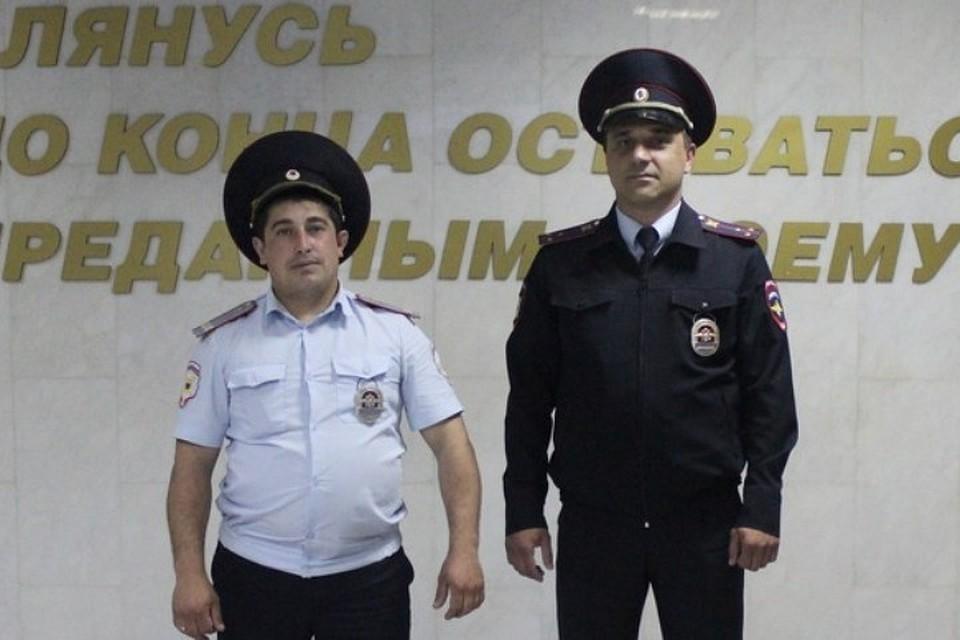 ВМинводах полицейские спасли пенсионера изогня