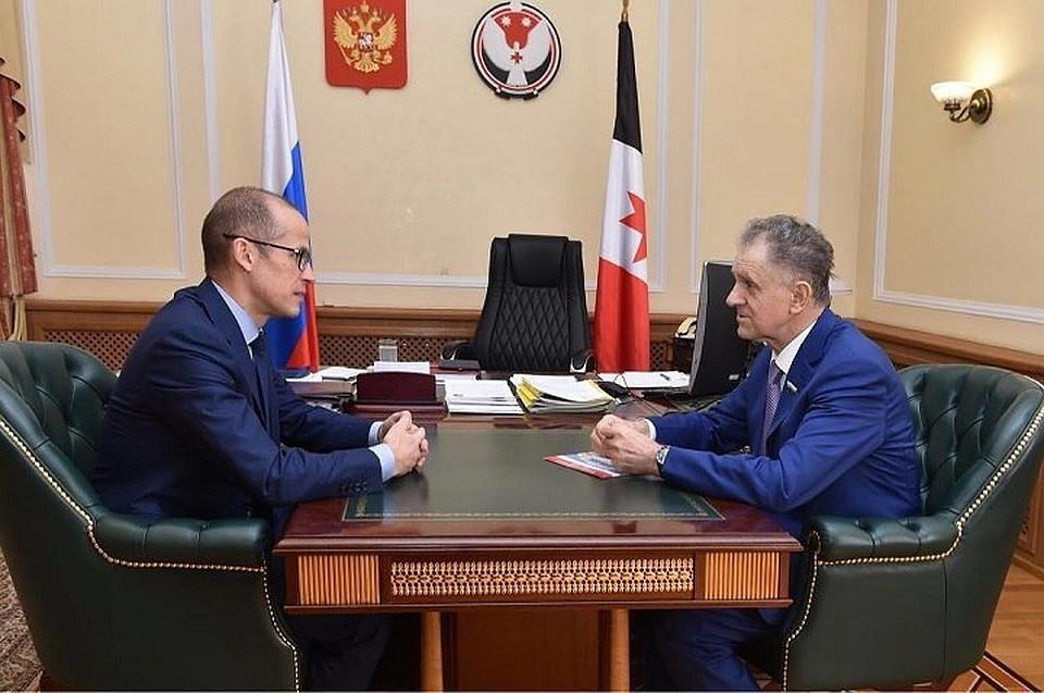 Медведев выразил сожаления всвязи с смертью сенатора Александра Волкова