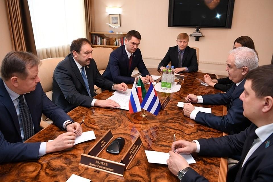 Татарстан заинтересован врасширении номенклатуры иобъемов торговли сКубой— Алексей Песошин