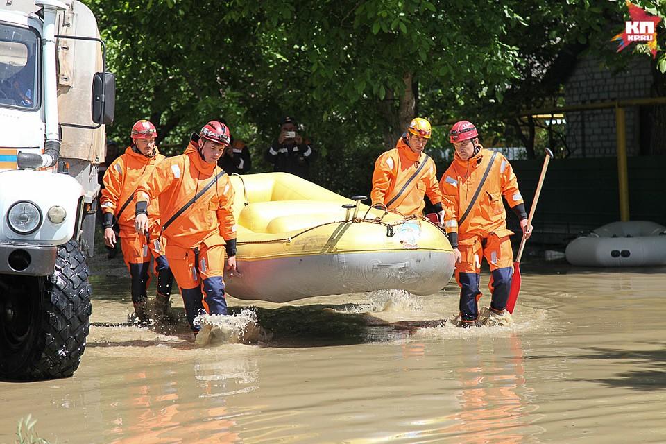 Сильные дожди привели кэвакуации 7-ми поселков наСтаврополье— Паводок