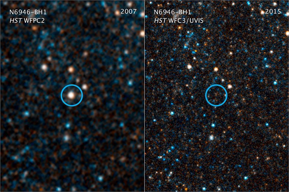 Звезда N6946-BH1 пропала из-за деятельности инопланетной расы