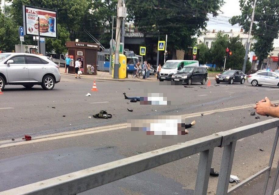 Три человека погибли при ДТП вКраснодаре