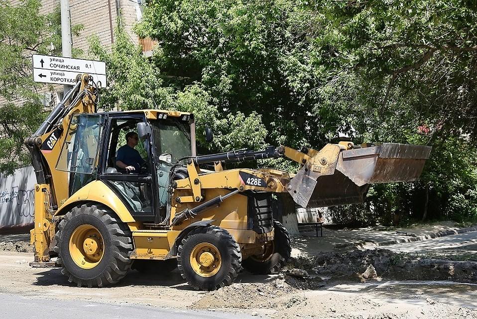 ВВолгограде начался масштабный ремонт улицы 39-я Гвардейская