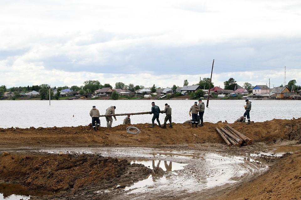 Сегодня вОмской области вода начнет отступать отТары, Черлака иБольшеречья
