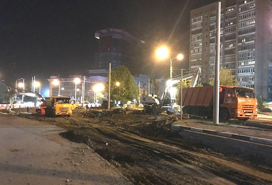 Реконструкция улицы Станиславского вРостове закончится киюню 2018г