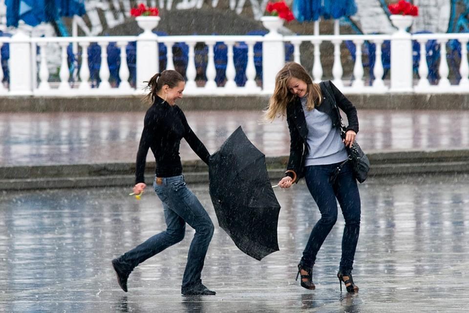 Наследующей неделе столицу России ожидают дожди ипохолодание