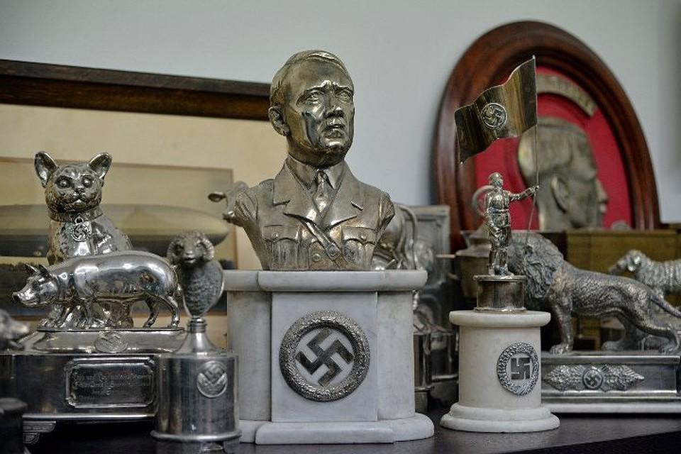 Коллекцию нацистской символики отыскали вАргентине