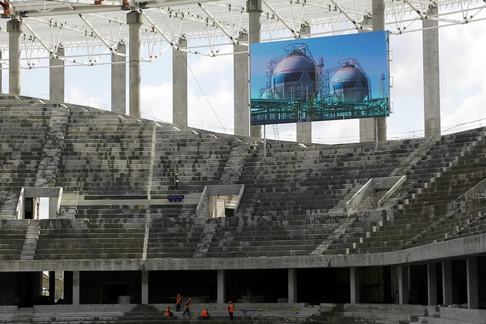 Два светодиодных табло появились на«Стадионе Нижний Новгород»
