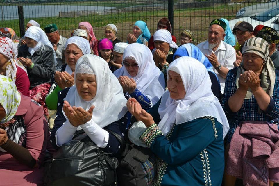 Путин поздравил русских мусульман спраздником Ураза-байрам