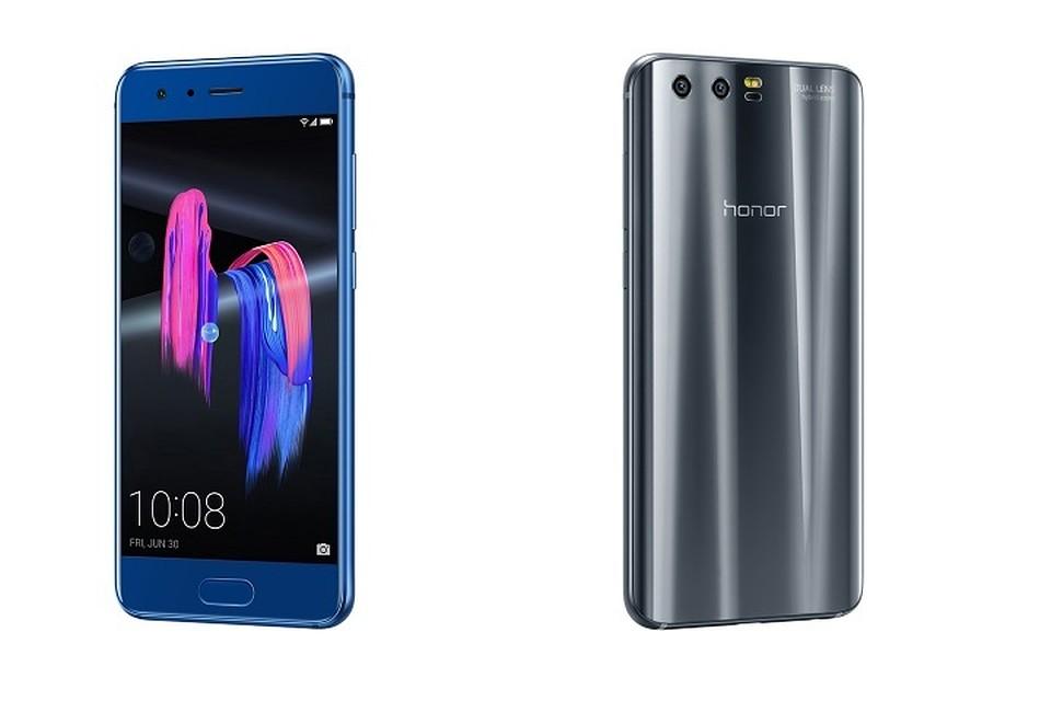 В РФ продажи телефона Huawei Honor 9 начнутся 6июля
