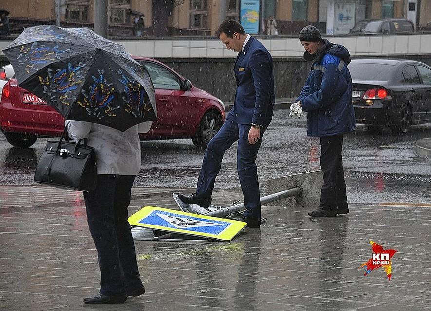 МЧС предупредило жителей столицы  обухудшении погоды вближайшие часы