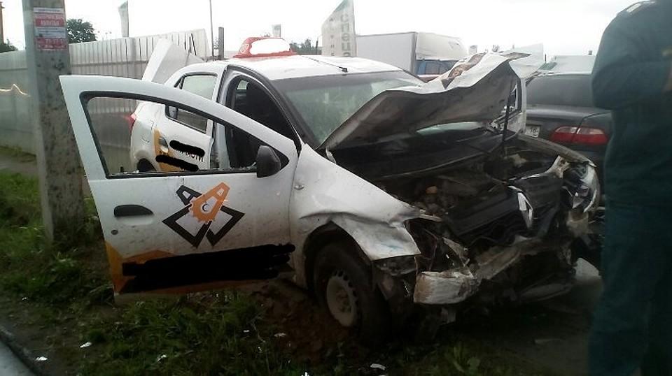 Нетрезвый таксист сломал вДТП как минимум 10 авто