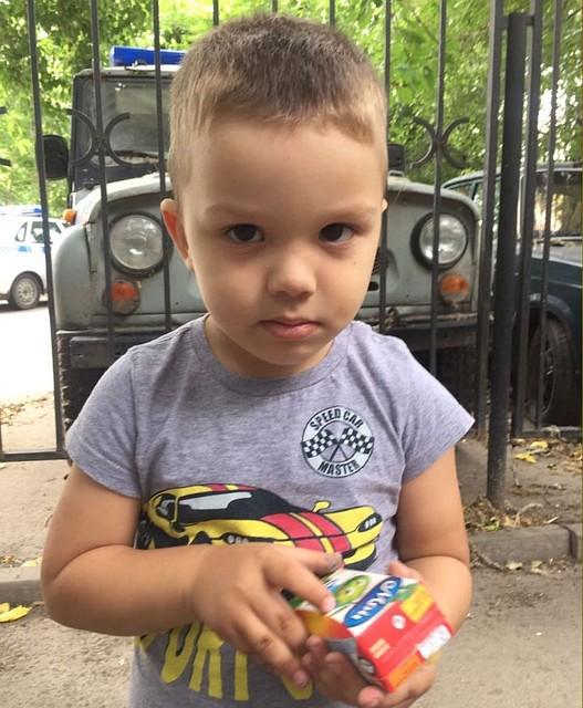 Разыскивают вРостове родителей 4-летнего ребенка