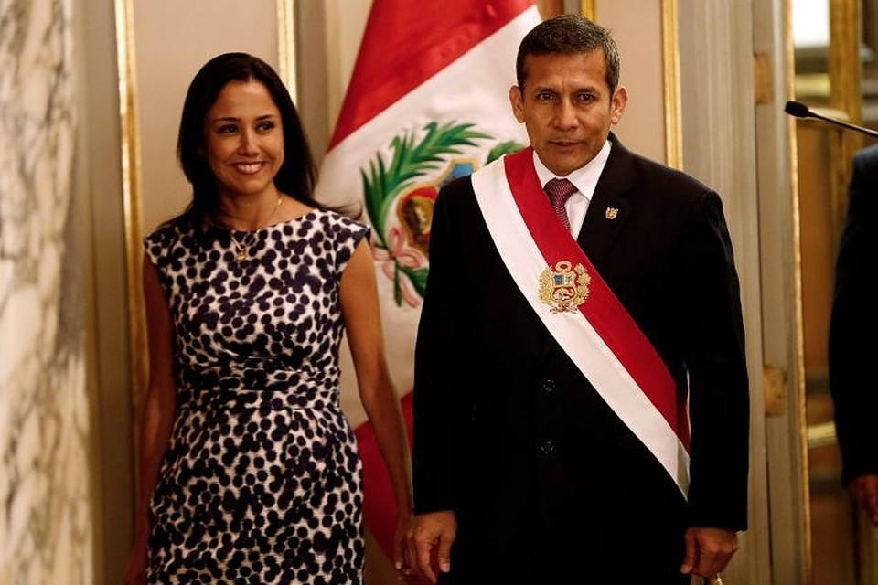 Прежнего президента Перу иего супругу арестовали на18 месяцев