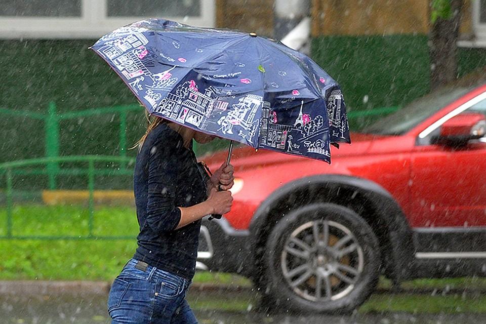 По данным Гидрометцентра России к вечеру прирост осадков в результате сильного дождя составит около 5