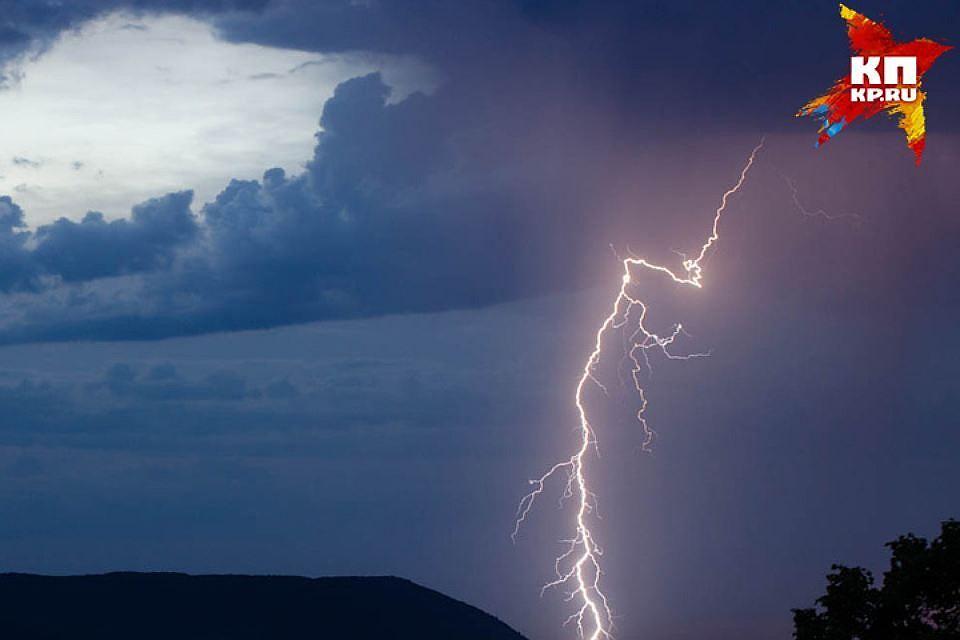 Дожди, град иветер ожидаются наЮжном Урале 18июля