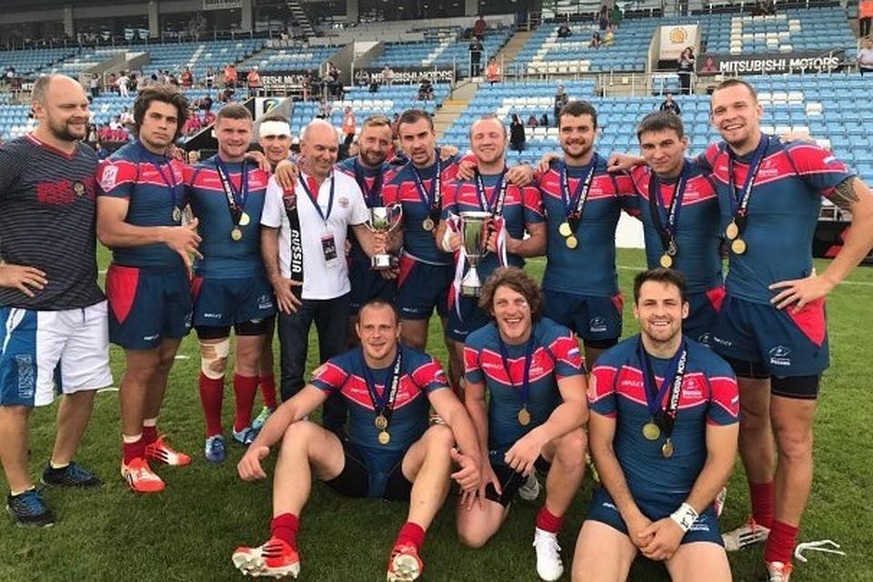 Мужская сборная Российской Федерации порегби-7 вышла вфинал этапа чемпионата Европы