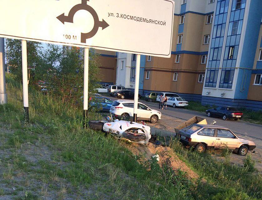 Артист государственного ансамбля умер под колесами мотоцикла вСалехарде